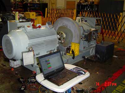 Flywheel generator rotor instability caused by structural resonance